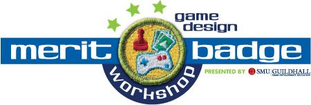 SMU Guildhall Game Design Merit Badge Workshop logo