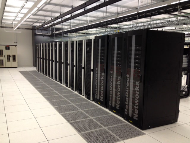 SMU's supercomputer, delivered in December 2013