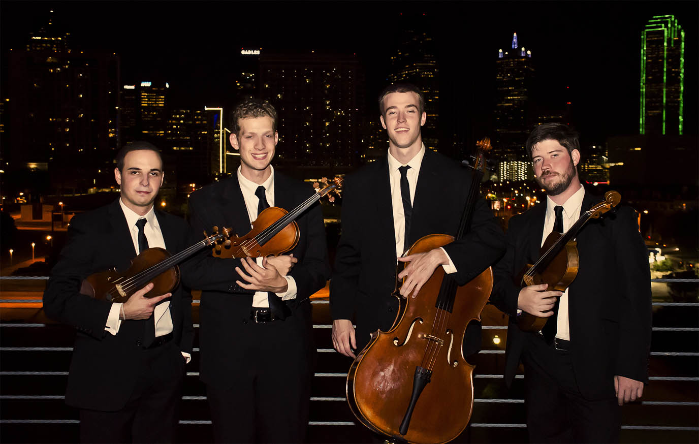 Altius Quartet (left to right) - Sercan Danis, Andrew Giordano, Zachary Reaves and Andrew Krimm. Photo by Brad Sigler