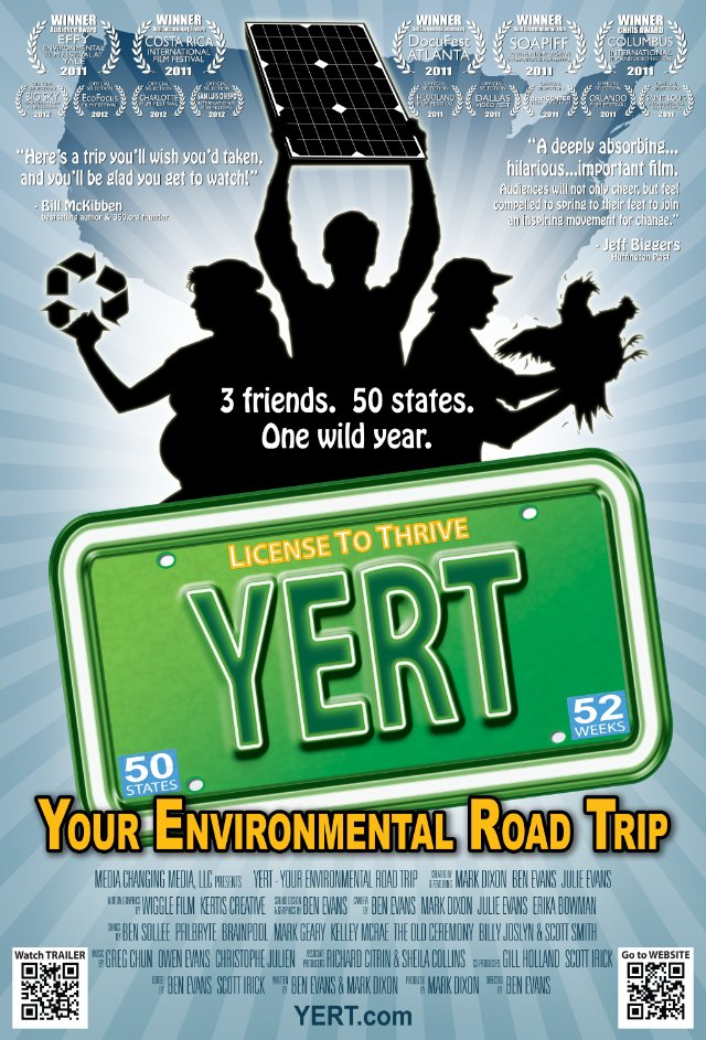 Poster art for YERT: Your Environmental Road Trip