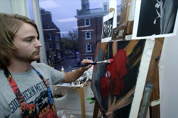 SMU Student Painter
