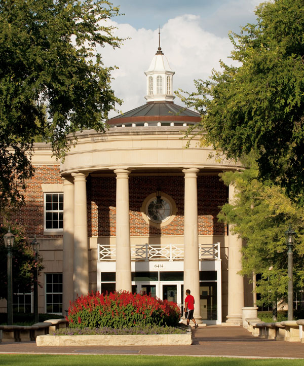 Fondren Library Center entrance