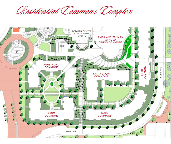Residential Commons complex facts SMU : ResComm map from www.smu.edu size 728 x 614 jpeg 140kB