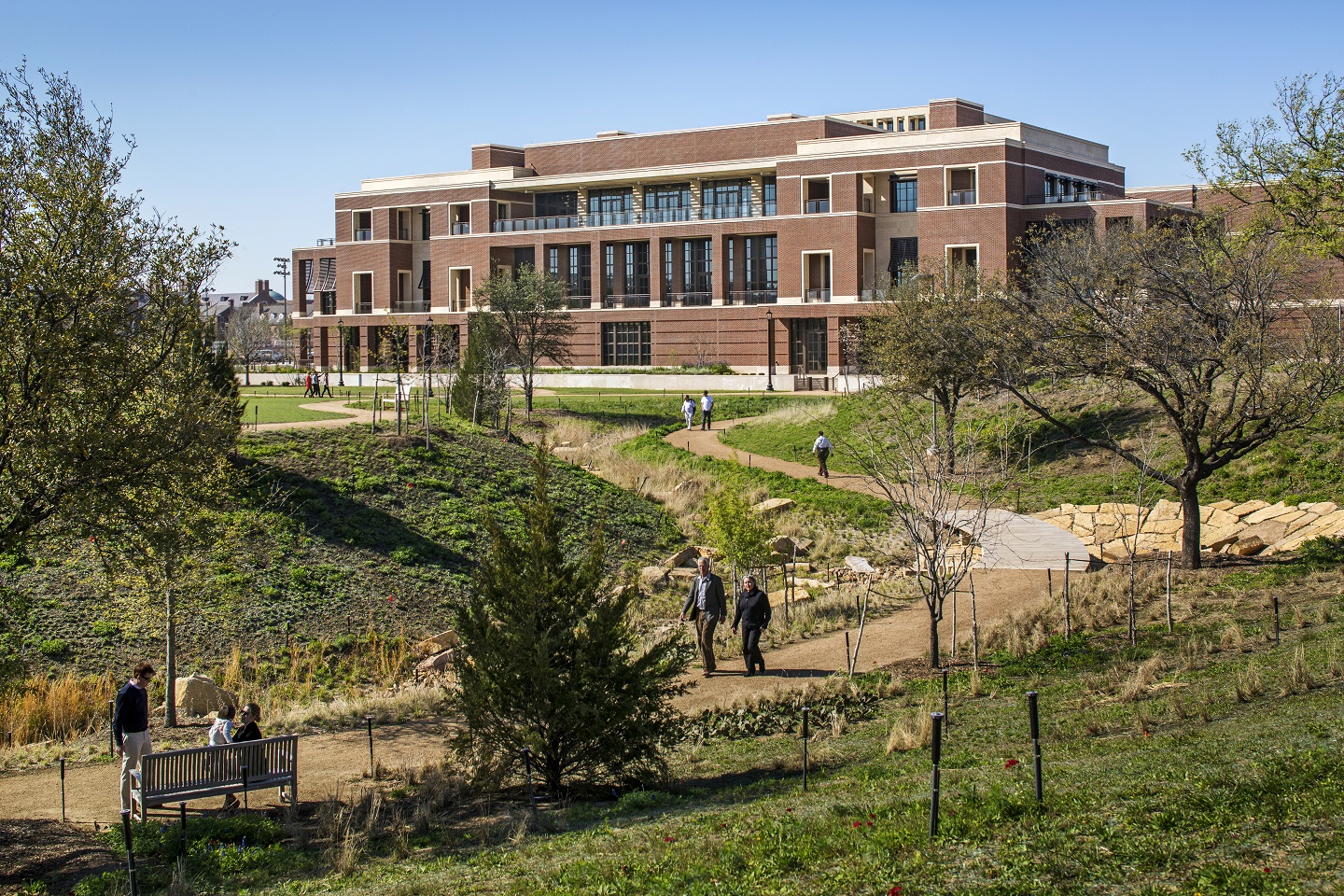 At SMU's Community Day, families can hunt for blooms on a wildflower scavenger hunt, plant wildflower seeds to bring home and enjoy SMU student musical performances at the Native Texas Park at the George W. Bush Presidential Center.