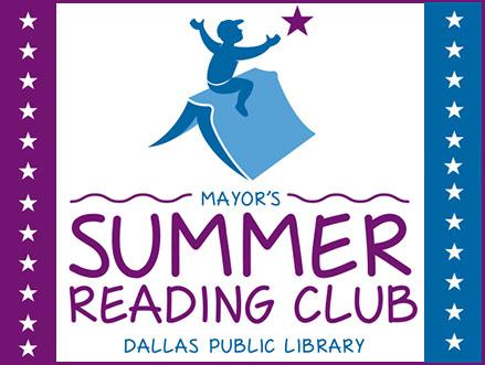 Dallas Mayor Summer Reading logo