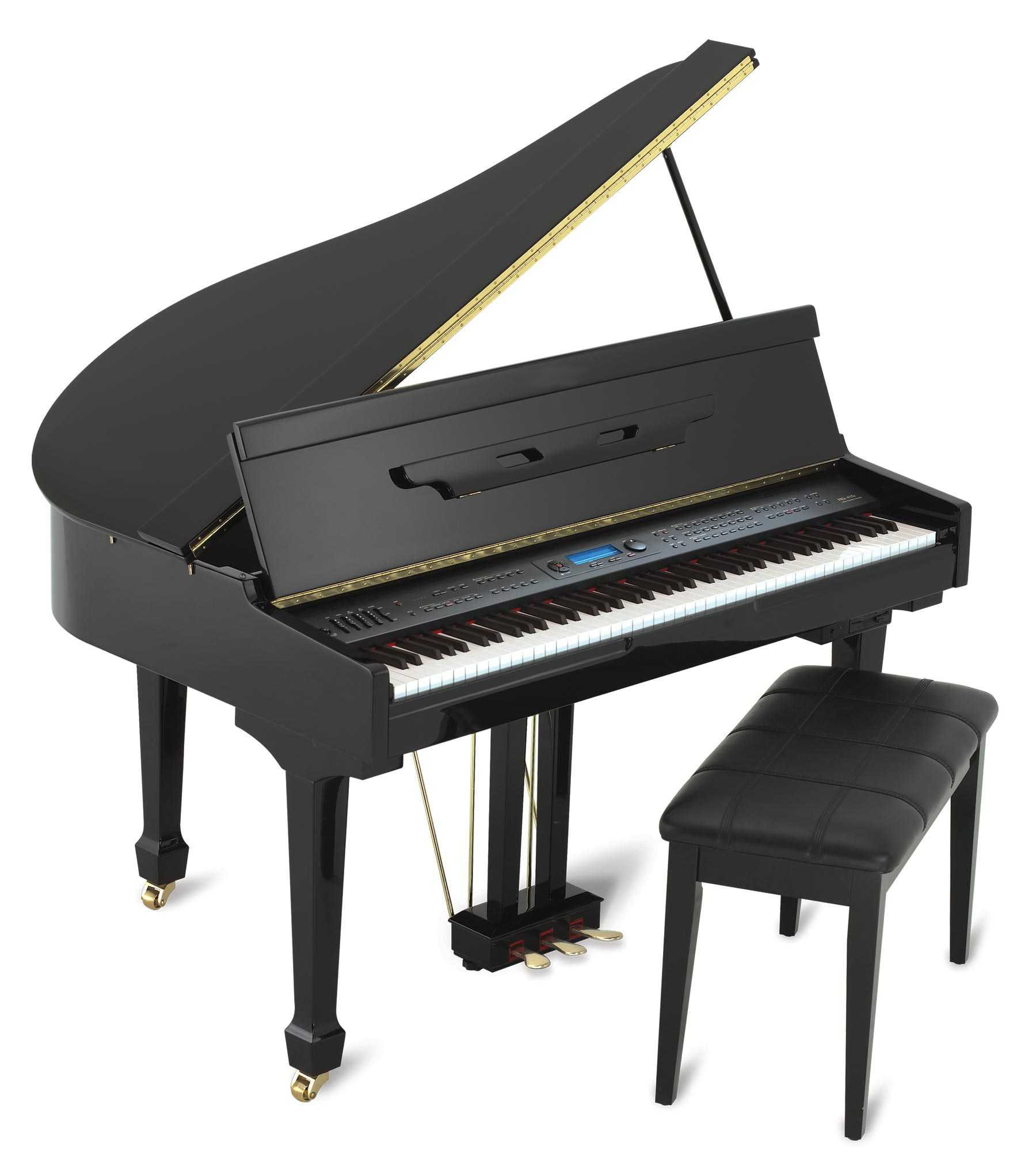 Stock photo of a grand piano