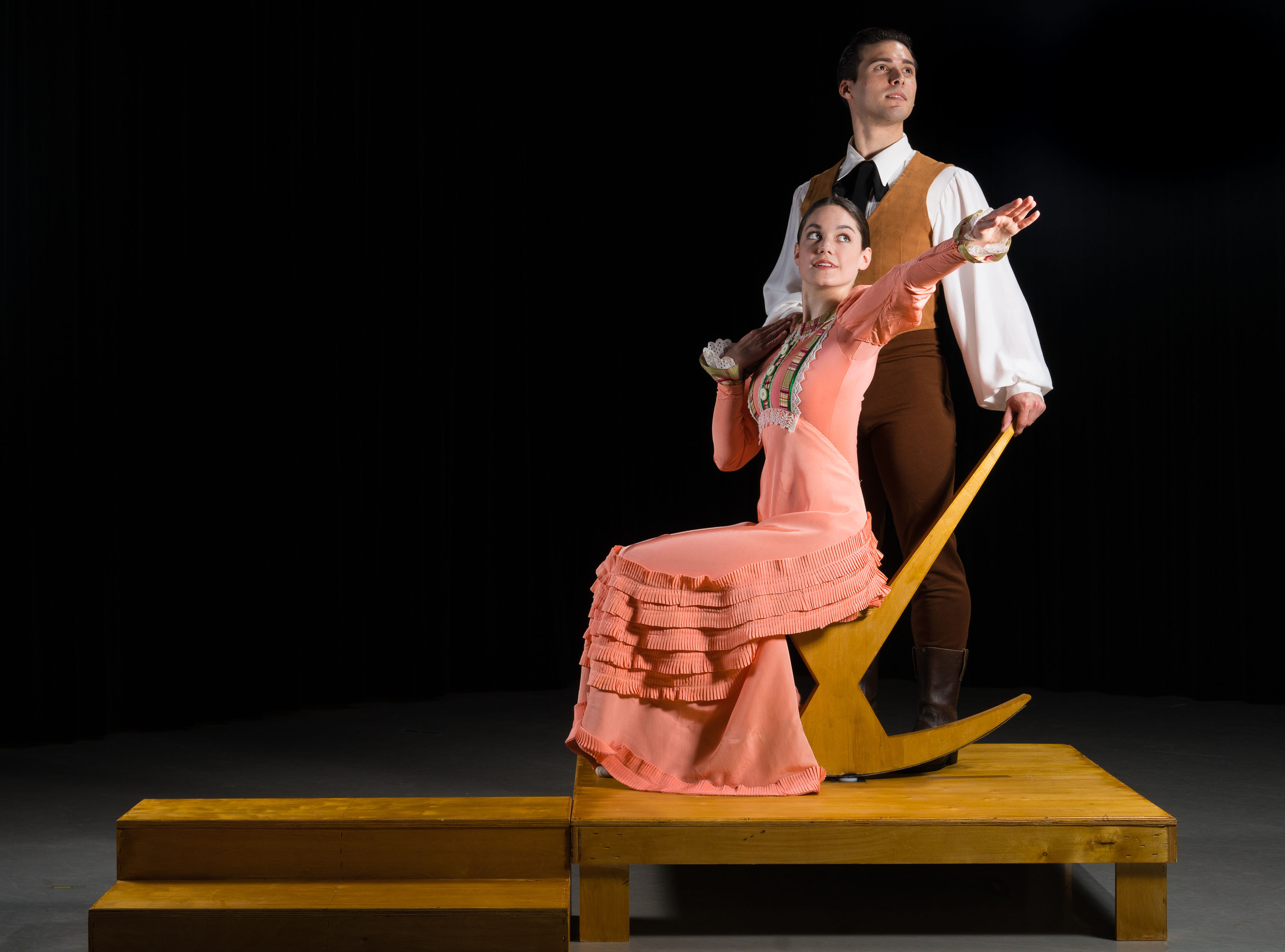 Appalachian Spring by Martha Graham performed by the SMU Meadows Dance Ensemble