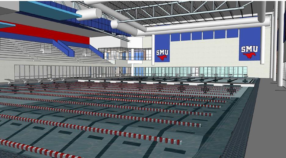 Aquatics Center at SMU
