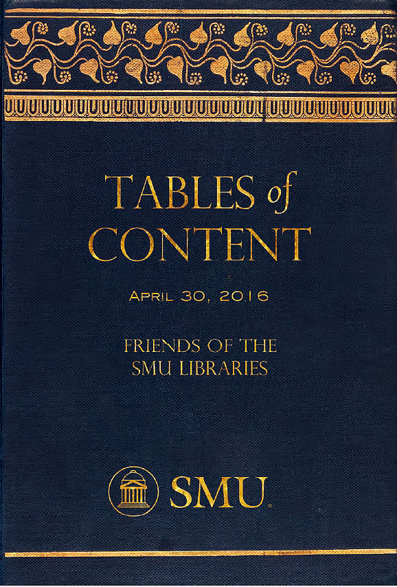 Tables of Content invitation
