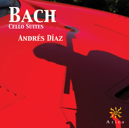 Bach Cello Suites album cover