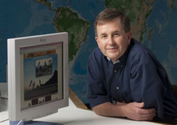 SMU's Albritton Professor of Earth Sciences Brian Stump