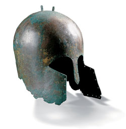 Etruscan Helmet - Middle of the 7th century B.C.E.