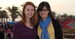 Shelby and Kelsey blog from Egypt for SMU Student Adventures