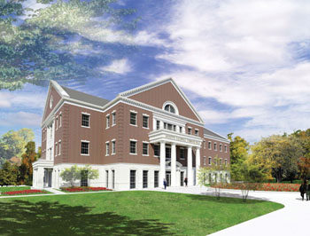 Simmons Hall Rendering