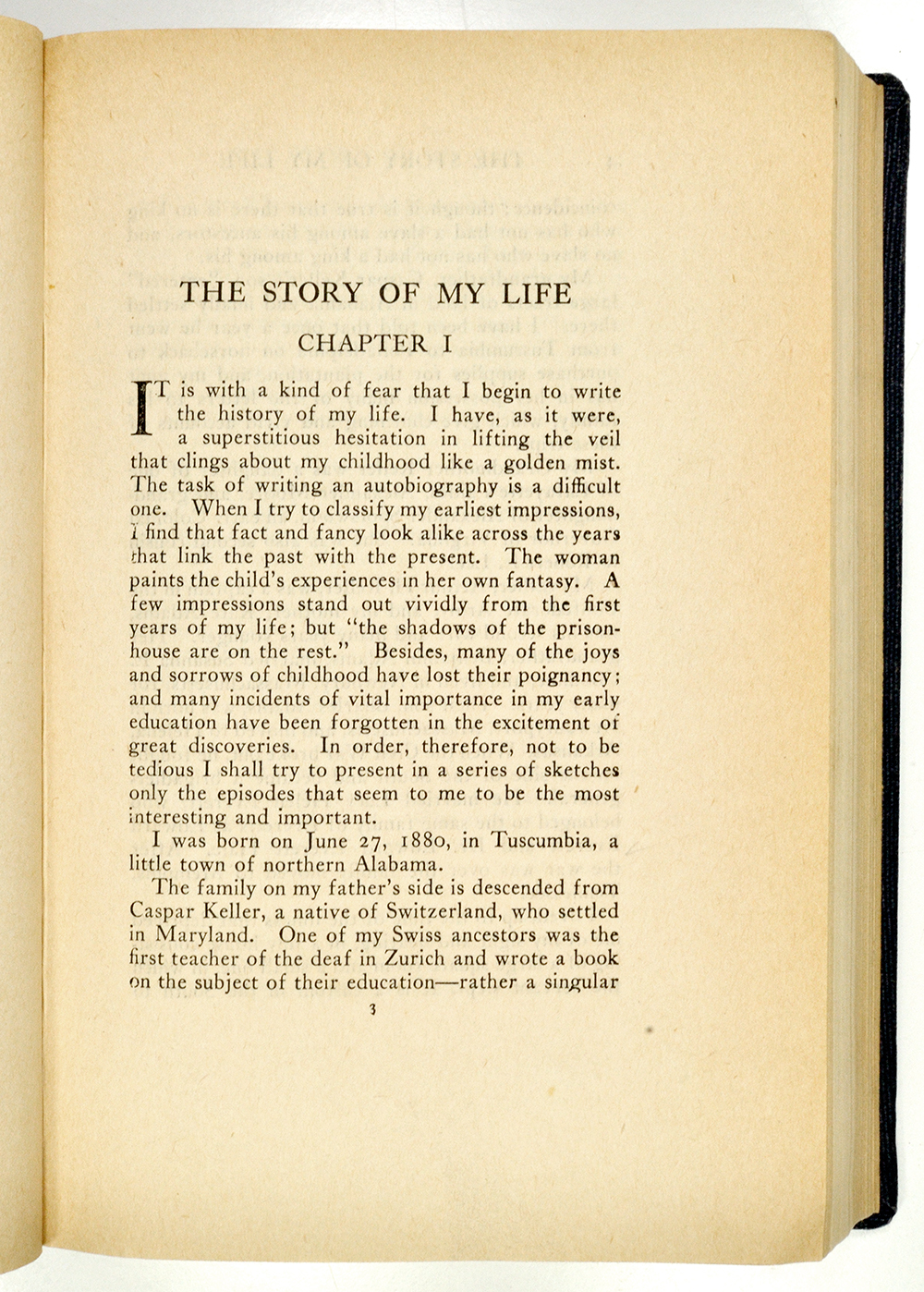 water essay by helen keller Below is an essay on the story of my life: helen keller from anti essays, your source for research papers, essays, and term paper examples  ann spelled water.