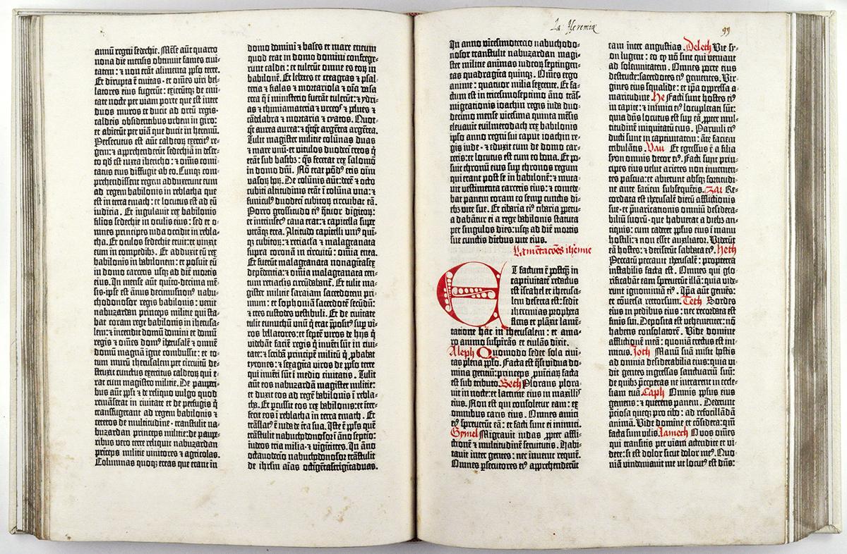 Gutenberg Bible Smu