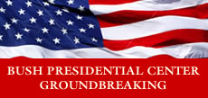 Bush Presidential Center Groundbreaking logo
