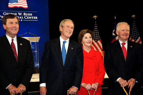 Bush Groundbreaking