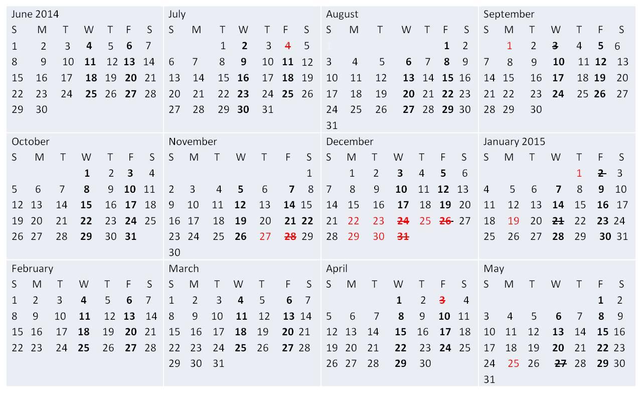 school board approves 2014 2015 calendar zachary community schools