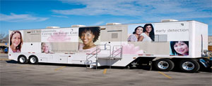 UT Southwestern Mobile Mammography Unit