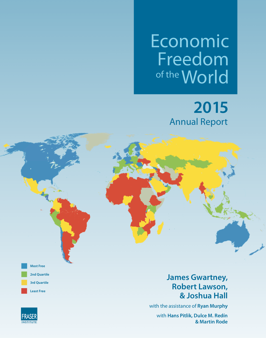 a study of economic freedom The country made some gains on the economic freedom ranking since then,   that's the finding of this and other studies that look at economic.