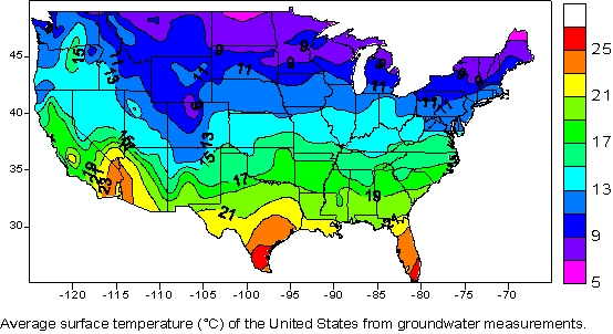 Us Surface Temperature Map 6.09   Data and Information   Noah Del Coro's Mobile Computing