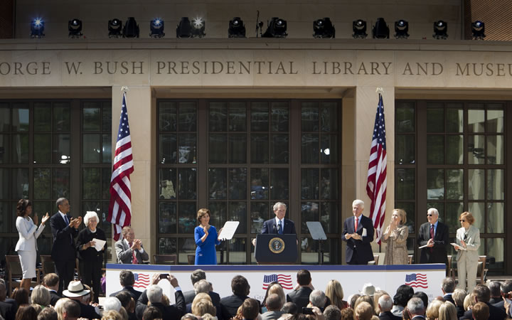 SMU welcomes the George W. Bush Presidential Center