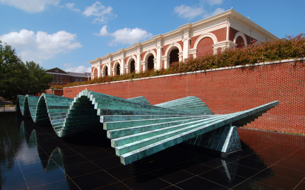 Santiago Calatrava - Wave, at the Meadows Museum