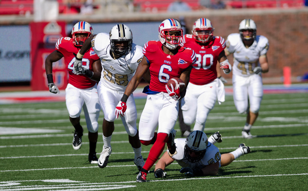SMU Mustangs stomp the competition