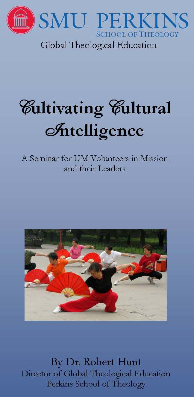Cultivating Cultural Intelligence - Brochure Cover