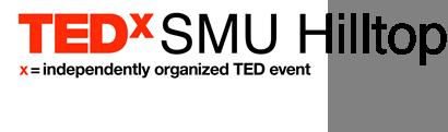 TEDxSMU Hilltop Logo, Southern Methodist University