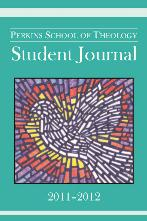 Image of 2012 Student Journal Cover, Perkins School of Theology, Southern Methodist University