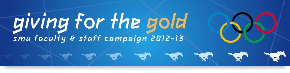 Giving for the Gold! Faculty & Staff Campaign 2012-13