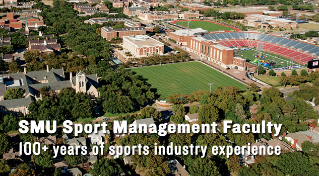SMU Sport Management Faculty 100+ years of sports industry experience