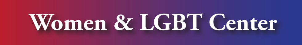 Women and LGBT Gradient Banner